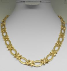 Large chain - Solid 18 kt yellow gold - 45.7 g - Length: 43 cm