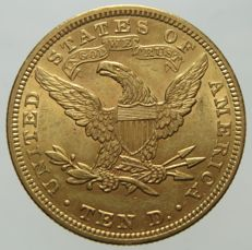"United States - 10 Dollars 1907 Philadelphia ""Liberty"" - gold"