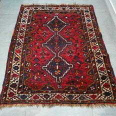 Magnificent semi-antique nomad's Shiraz Persian rug - 150 x 115 - unique rug