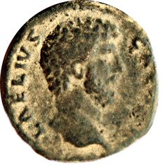Roman Empire - Aelius. Caesar, AD 136-138. Æ As (24,10 mm, 8,86 gr). Rome mint. Struck AD 137.  TR POT COS II