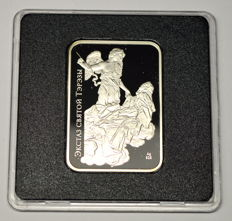 Belarus - 20 Rubles 2010 'World of Sculpture - Ecstasy of Saint Teresa' - silver