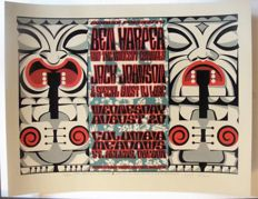 Ben Harper & The Innocent Criminals Portland Usa Poster by Gary Houston 2003