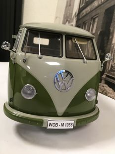 Sun Star - Scale 1/12 - Volkswagen Standard 1958 - Green / White - Limited Edition 3,000 pcs
