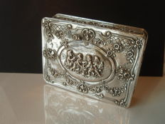 Silver box - Christoph Widmann - Germany - mid 20th century