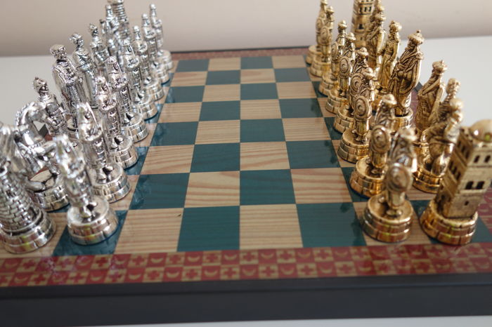 "Chess from collection ""Arabs and Templars""."