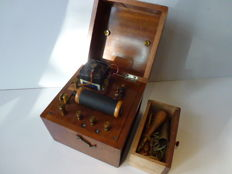 Physio box for electro-therapy - early 1900