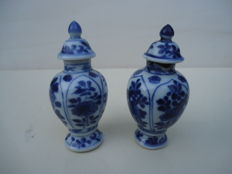 Vases with lids - China - 18th century