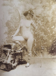 Unkown artist - Nudes from Paris, circa 1900