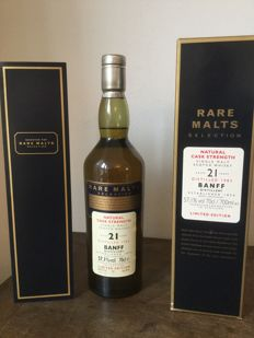Banff 1982 21 years old - Rare Malts - OB