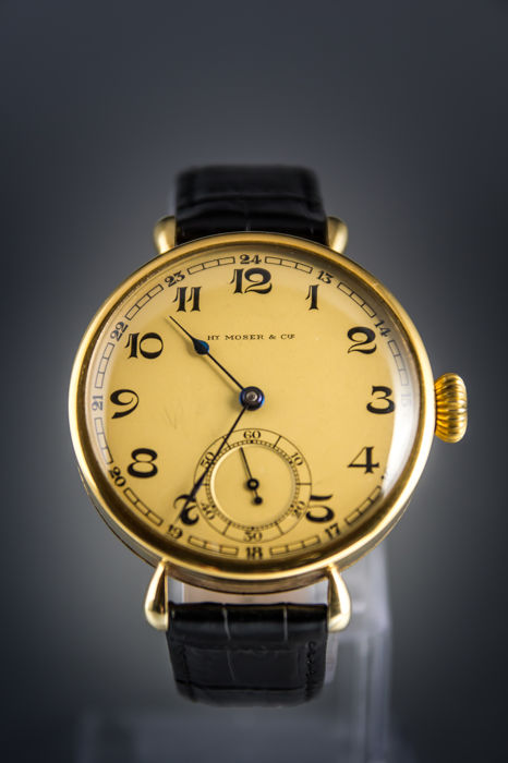 Henry Moser –  Exclusive mariage – Men's watch