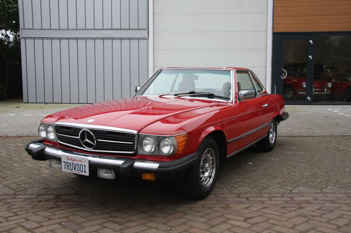 Mercedes-Benz - 380 SL - originaler W107 - 1984