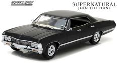 Chevy Impala Sport Sedan 1967  from the TV Serie Supernatural - Scale 1/24 - Greenlight