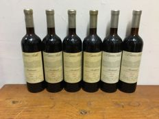 1990 Ceretto Bricco Asili Faset, Barbaresco DOCG, Italy - 6 bottles (75cl)