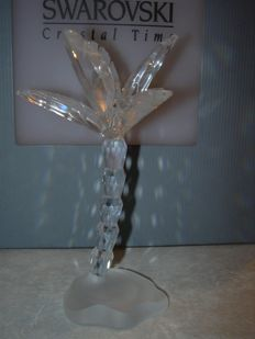 Swarovski - Silver Crystal palm tree