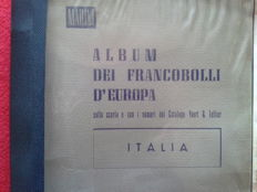 Italy, Republic, 1945/1970 – Collection in two albums, Marini and GBE albums