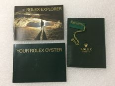 ROLEX EXPLORER I--EXPLORER II manual-VIP holder-Oyster manual