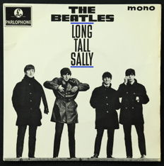 The Beatles – Lot of 9 Early Authentic Singles From 1963-1964 Mono Pressings (Includes 'Love Me Do' + U.K EP Pressing of 'Long Tall Sally' from 1964 in Very Good Condition)