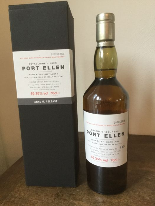 Port Ellen 1978 2nd release 24 years old, 59.35% 70cl OB