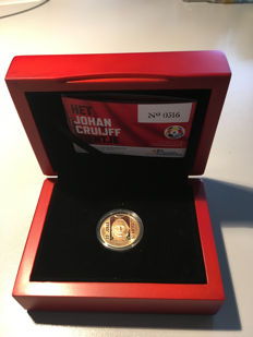 The Netherlands - 10 Euro 'Johan Cruiff commemorative coin' - gold