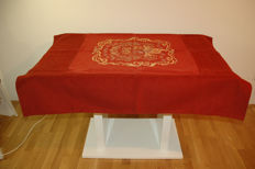 Rectangular tablecloth 2-4 people 120x125cm / with coat of arms