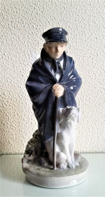 Royal Copenhagen - Stamped and numbered boy figure