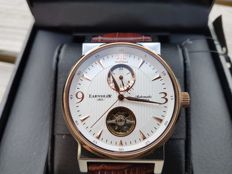 Thomas Earnshaw 1805 Providence 18 kt rose gold-plated - automatic - men's watch - 2017