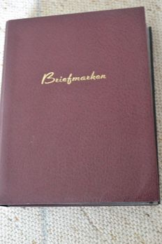 German Reich - General Government - Federal Republic of Germany collection in 2 stock albums