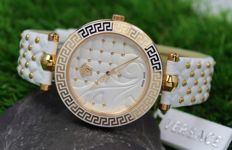 Versace - Vanitas - Ladies - Swiss Made - Luxury - Gold Plated Watch - New & Mint Condition