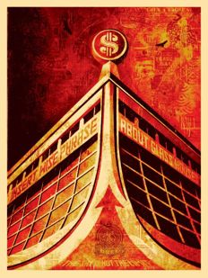 Shepard Fairey (OBEY) - Glass Houses