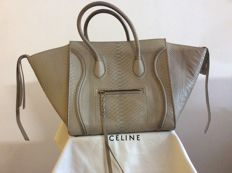 Céline - Luggage Phantom in snakeskin