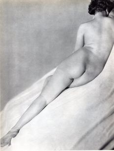 Laure Albin-Guillot (1879–1962) - Reclining Nude