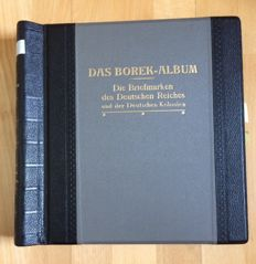 German Reich - 1872-1945 - advanced collection with inflation stamps and set in Borek album
