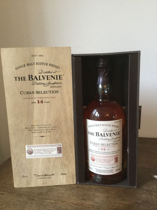 Balvenie 14 years old Cuban Selection - 70cl