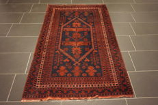 Antique hand-knotted Persian collector's carpet Baluch collector rug, carpet, tappeto, rug, Made in Iran 110 x 180 cm