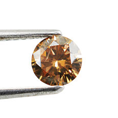 Diamond - 0.61 ct Round Brilliant  Fancy Brown, I1 - **No Reserve**