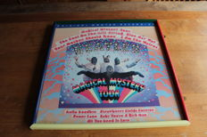 The Beatles 1967 Magical Mystery Tour Promotional Print