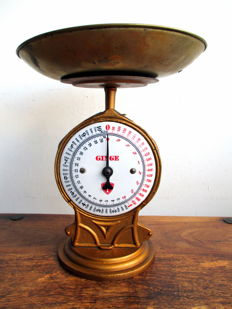 Ginge cast iron scales - 1st half of the 20th century