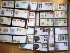 Netherlands and Overseas 1958/2006 - collection of FDCs in 10 albums
