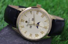 Edward East – Men's - Gold Plated - Moonphase Watch - Unworn
