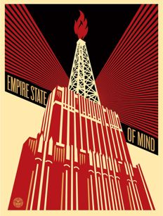 Shepard Fairey (OBEY) - Empire State of Mind