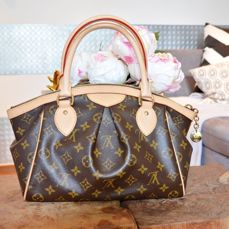 Louis Vuitton PM in brown leather