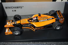 Minichamps - Scale 1/18 -  Arrows F1 Supertec  A21 Jos Verstappen