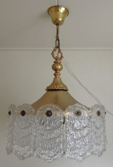 Producer unknown - hanging lamp in Hollywood Regency style