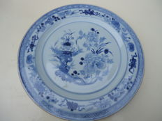 Large plate - China - 18th century