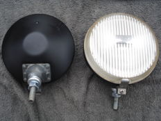 Two SPOTLIGHTS by BOSCH with a diameter of 140 mm