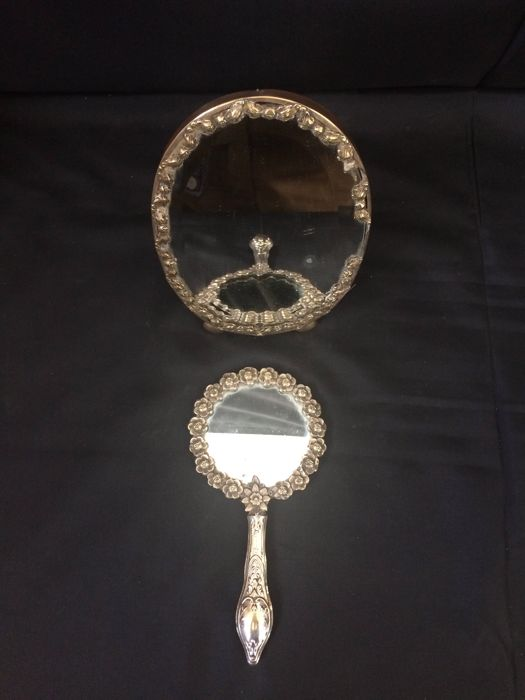 Antique Silver Mirrors - Italy - 1900
