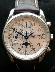 Longines - Master Collection Chronograph Moonphase Calendar - L2.673.4.78.3 - Hombre - 2011 - actualidad