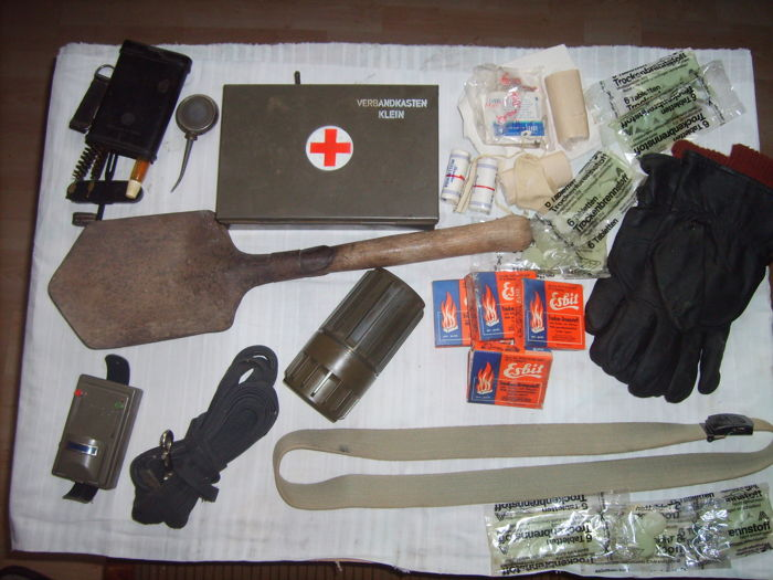 Mixed lot of Austrian Armed Forces 1970/1980