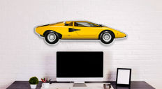 SL - Halmo Collection - Lamborghini Countach plexiglass model