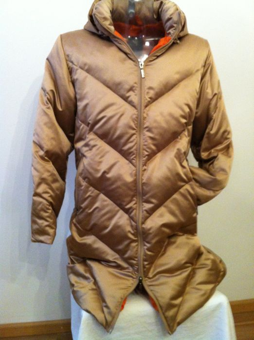 MONCLER - down coat with hood